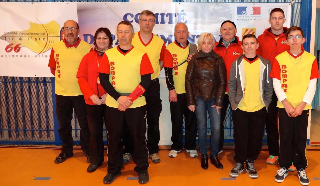 Championnat 66 salle Perpignan (18/01/15)