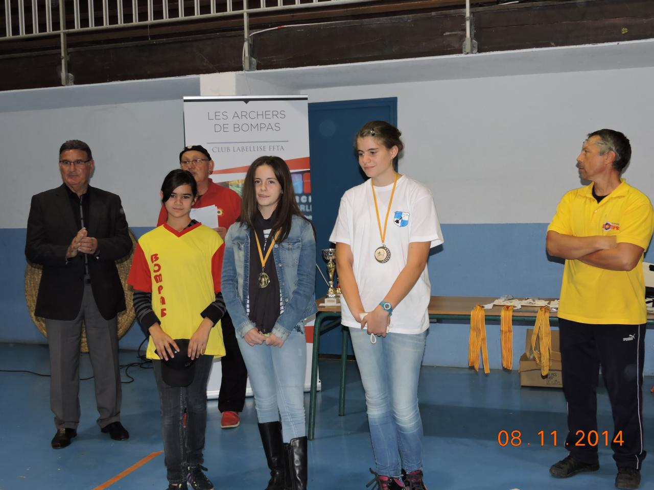Podium des Jeunes Archers
