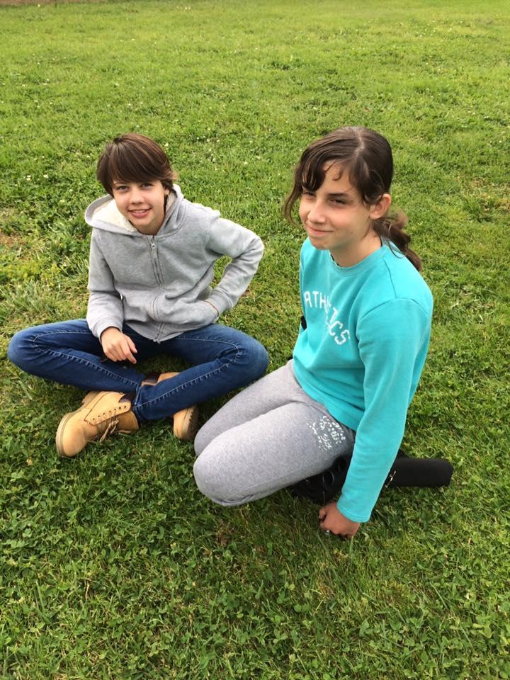 Tessa Katz et Lucie Nadal (04/17)