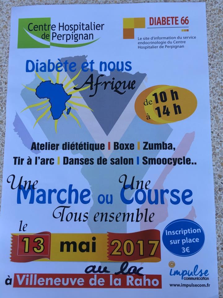Diabète et nous Afrique Villeneuve/Raho 13/05/17