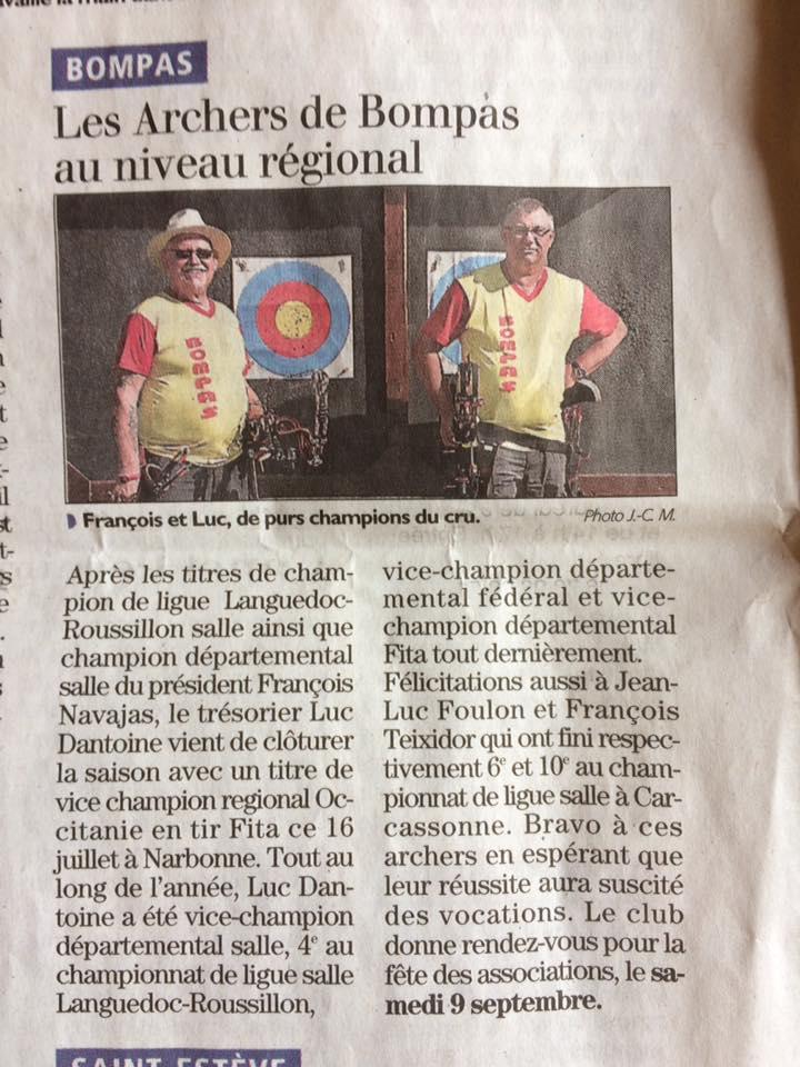 2 champions Régionaux 2017