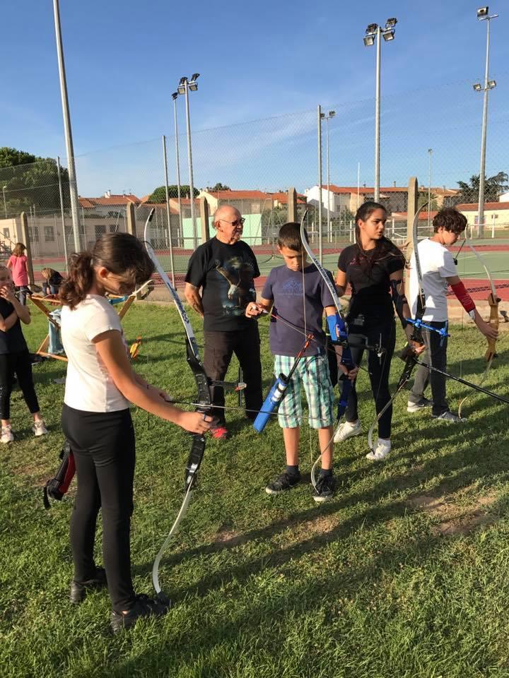 jeunes archers
