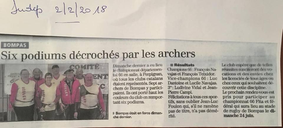Chpt 66 salle à Perpignan (28/01/18).