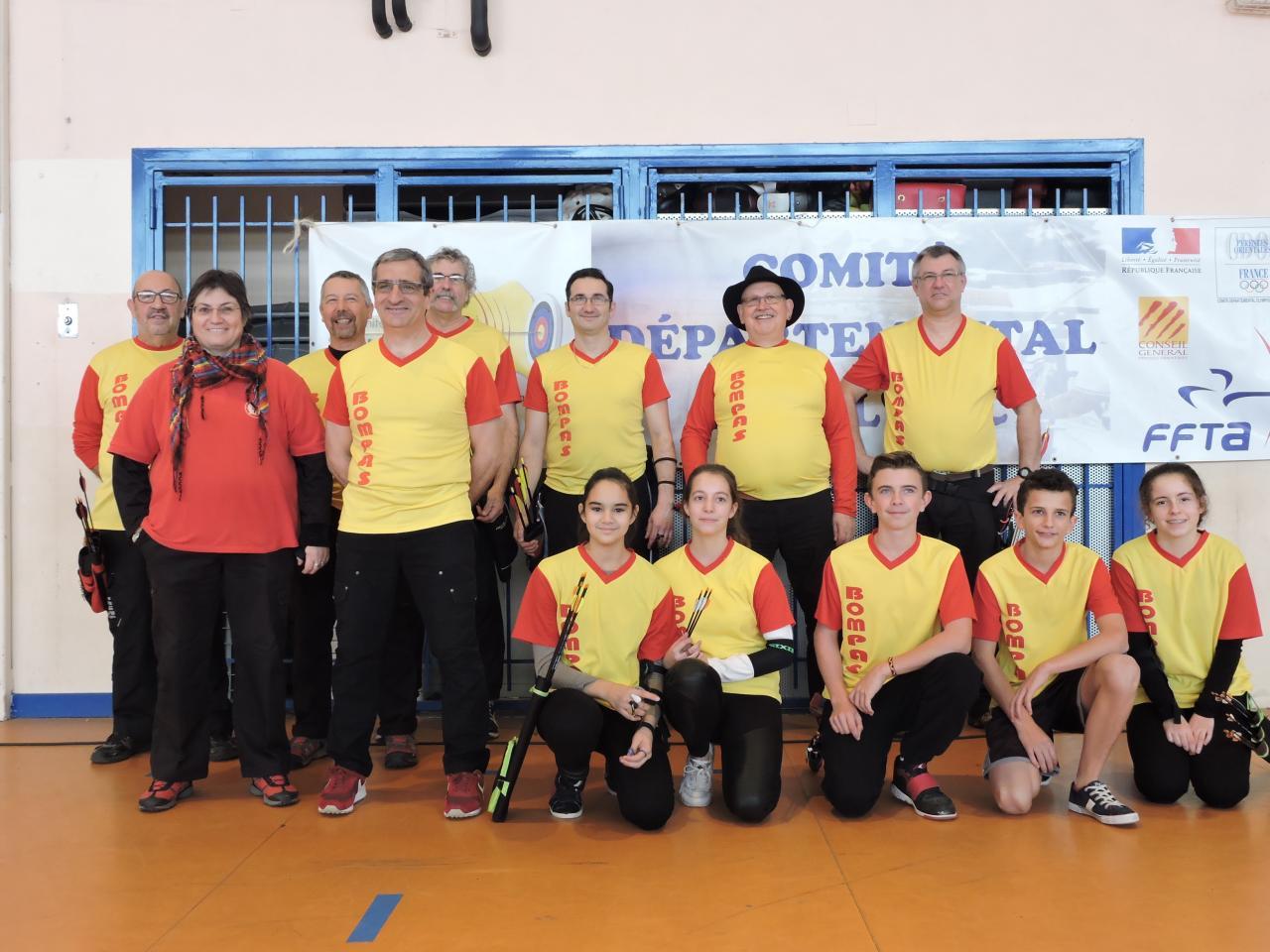 Championnat 66 salle à Perpignan (24/01/16)