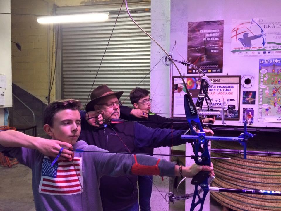 Jules M, Hans B et leur coach...(01/16)