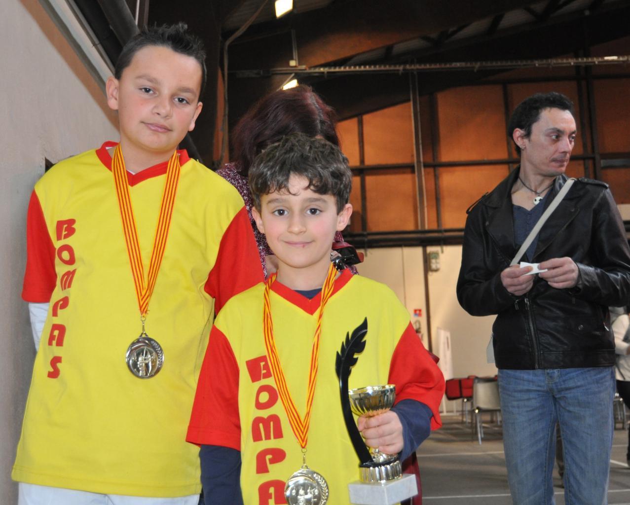 Enzo et Matthias: 2 graines de champion !!!! (8/03/14)