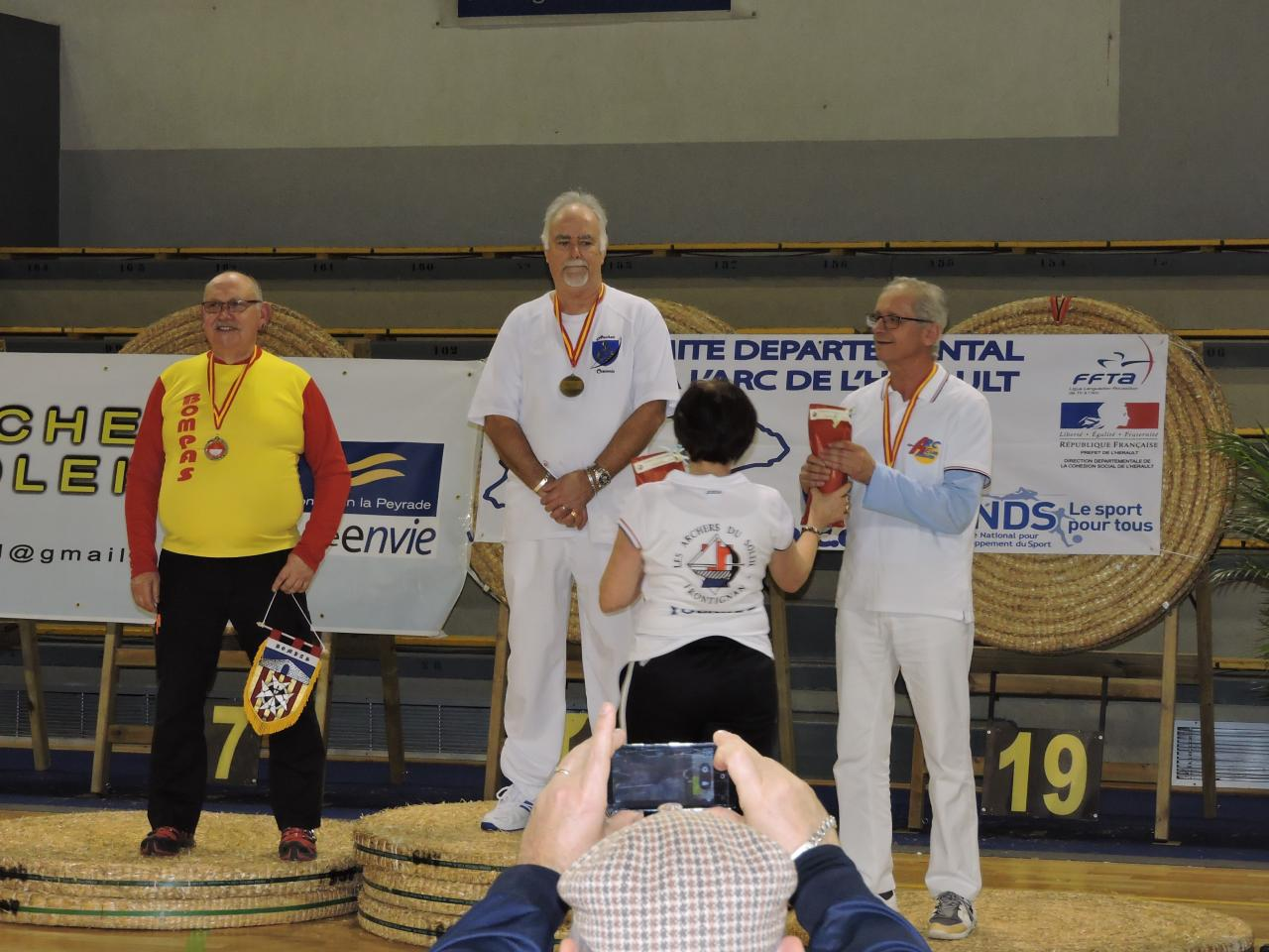 Vice Champion de Ligue salle à Frontignan (06/02/16).