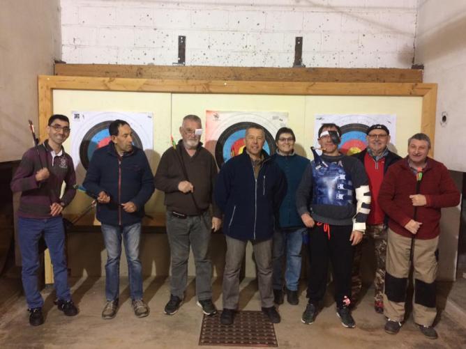 Nouvelle section avec 3 archers partis... (01/17).