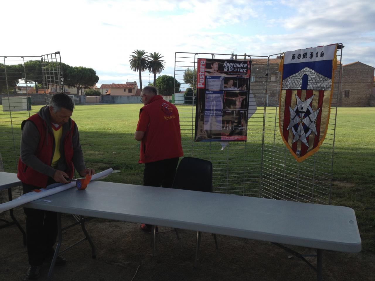 maintenant le stand!