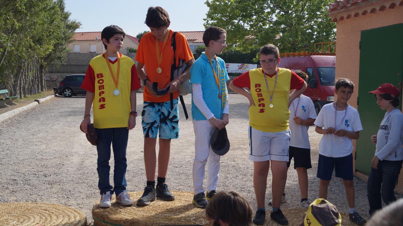 Challenge 66 jeunes Llupia 08/06/14
